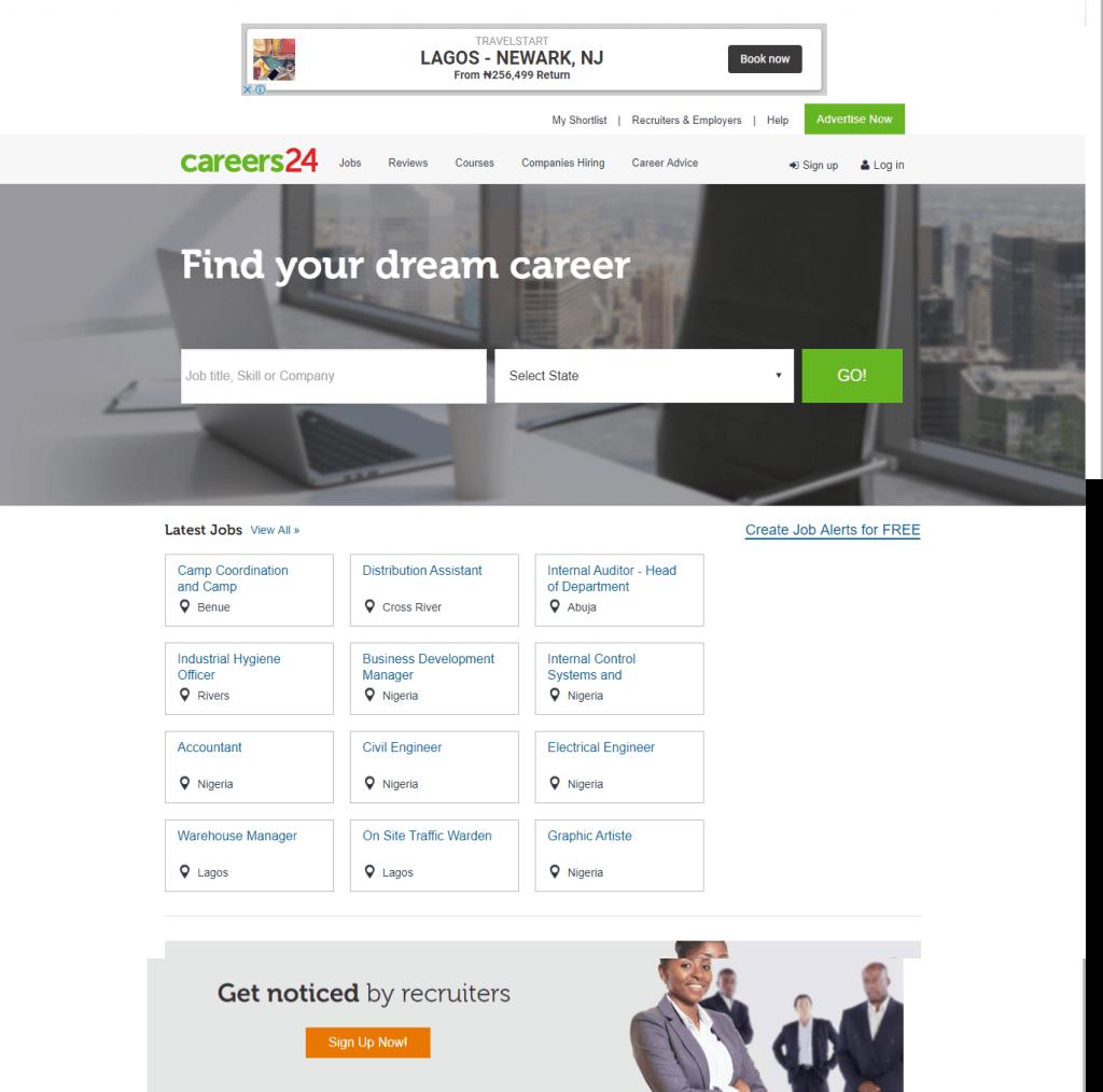 Careers24 Nigeria Job Website