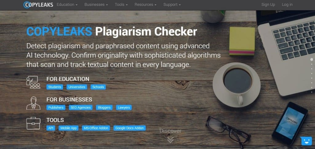 The best free Plagiarism Checker Tool Online-Copyleaks
