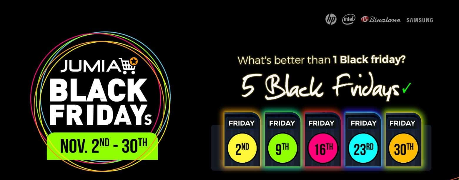 All The Best Deals From Jumia Black Friday In 2020 Joblinko Com