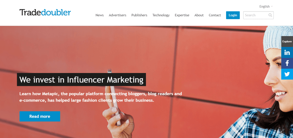 Connect and grow with Tradedoubler performance marketing