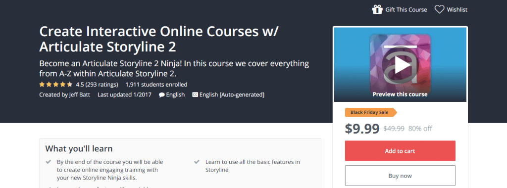 Create Interactive Online Courses w Articulate Storyline 2 Udemy