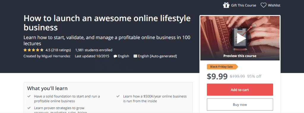 How to launch an awesome online lifestyle business Udemy