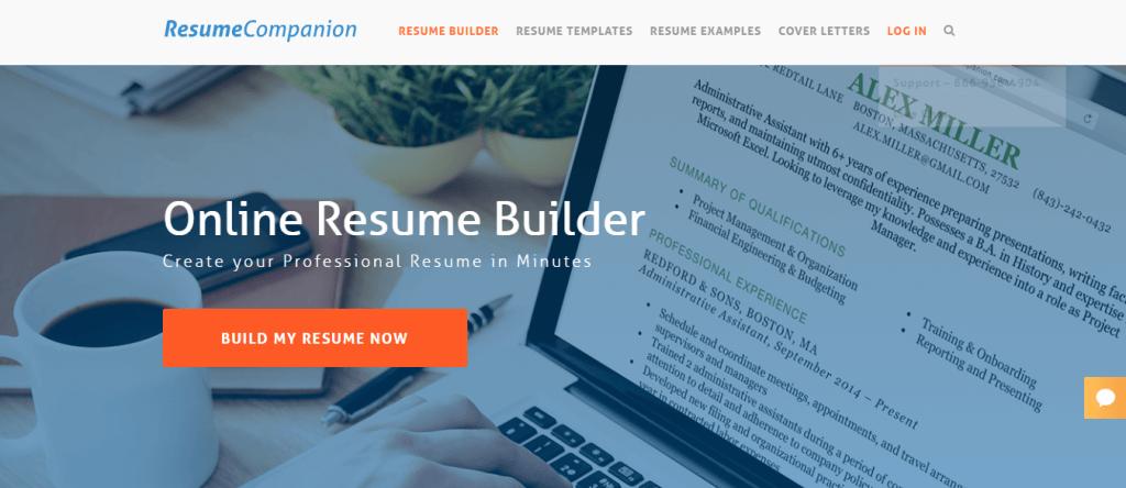 Resume Builder Free Resume Builder Resume Companion