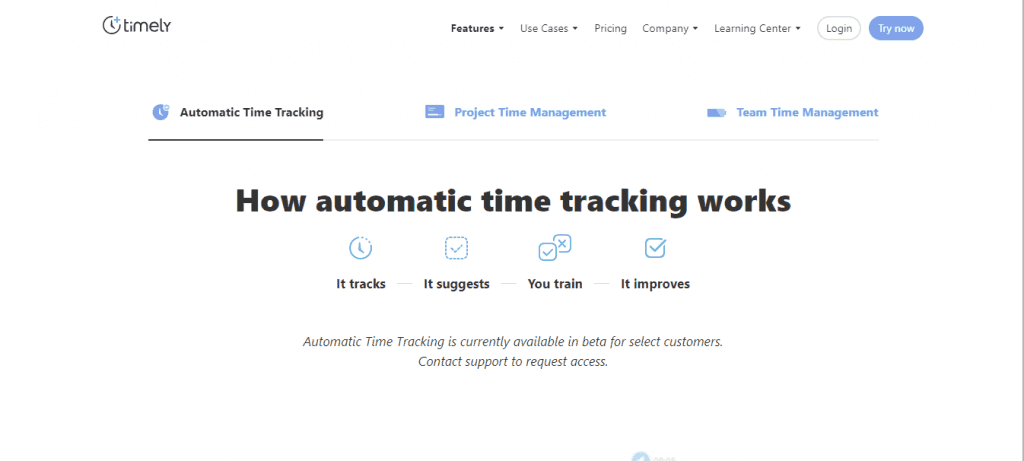 Timely-One of the best tools for Freelance writers to track time